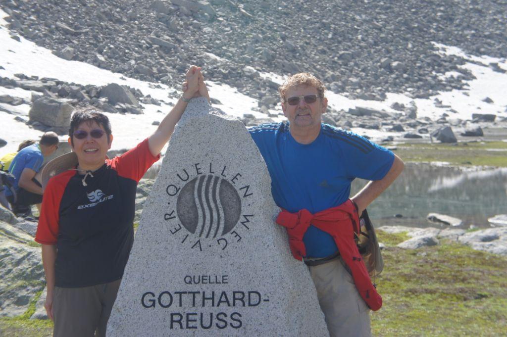 Quelle der Gotthardreuss