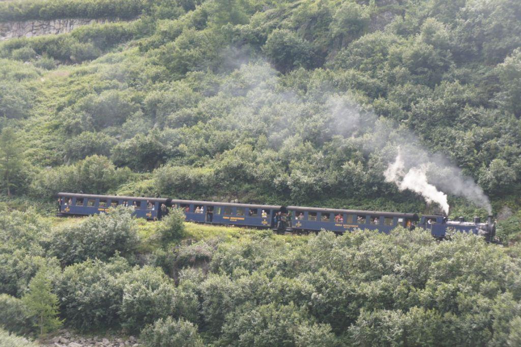 Dampfbahn Realp-Oberwald