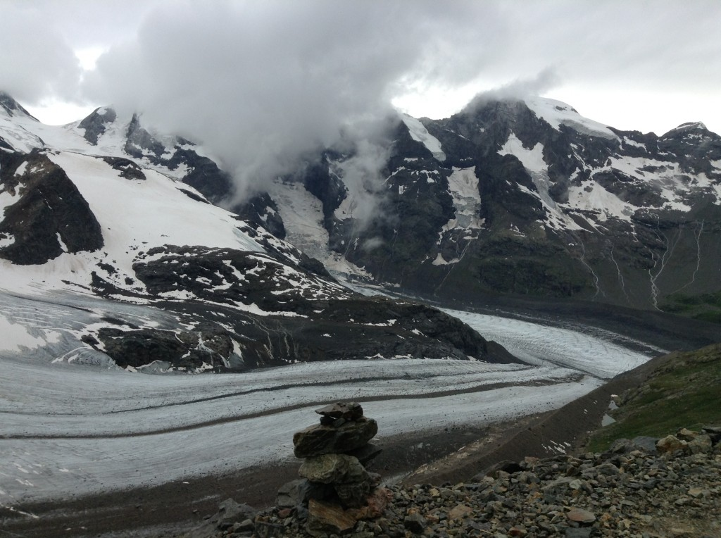 Gletscherlandschaft auf Diavolezza