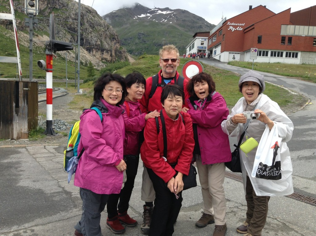 """""""Wir tun alles für glückliche Touristen aus Fernost"""""""