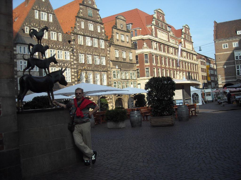 Bremen - mit Bremer Stadtmusikanten