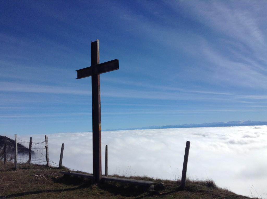 Das Mittelland im Nebel