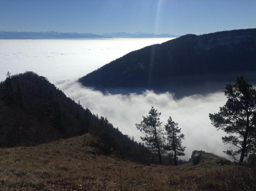 Nebeleinbruch ins Val-de-Travers