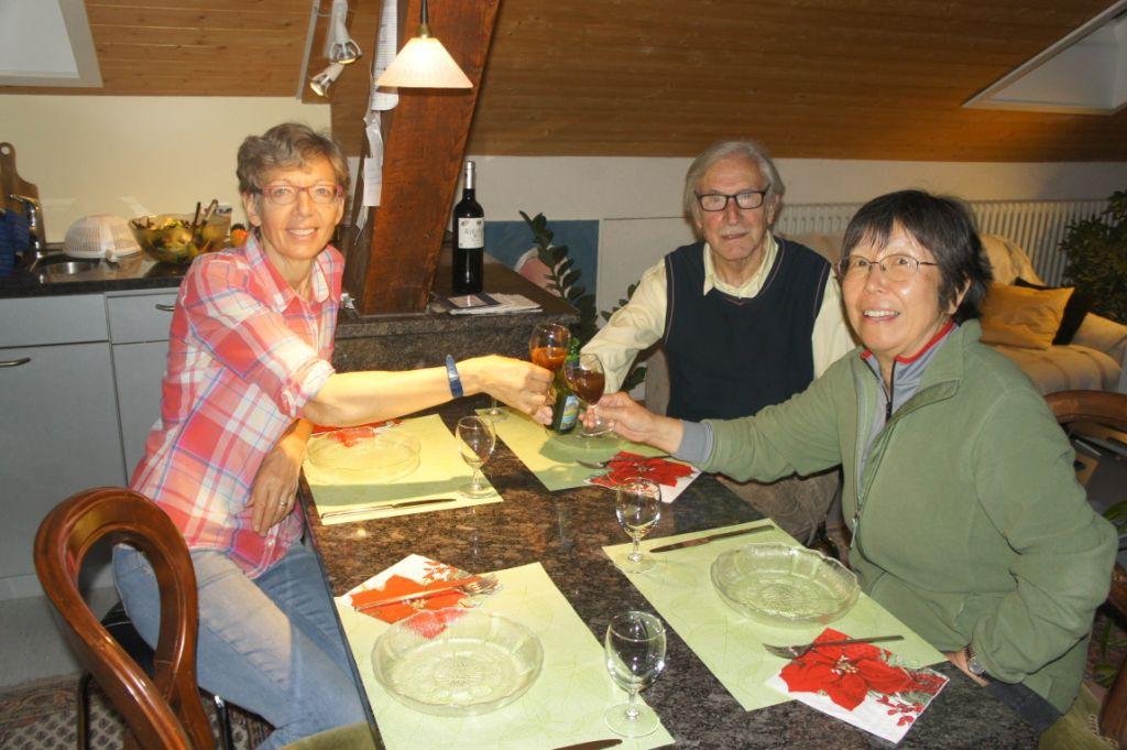 Zu Gast im Tannenheim: Elisabeth, Ernst, Michiko