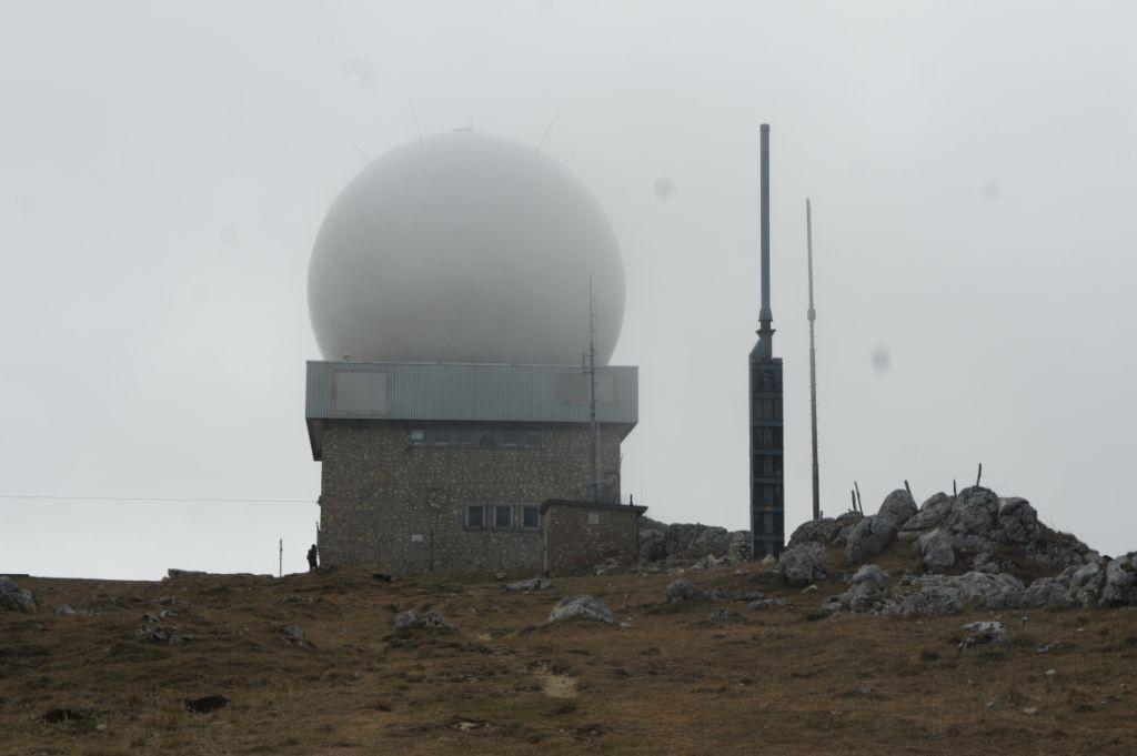 La Dôle, 1677 m ü. Meer, zweithöchster Berg im Jura
