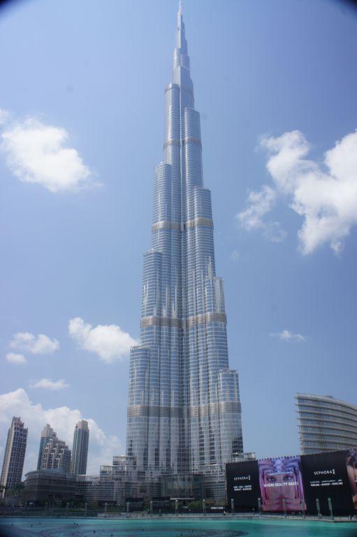 Dubai - Burj Khalifa, 828 m