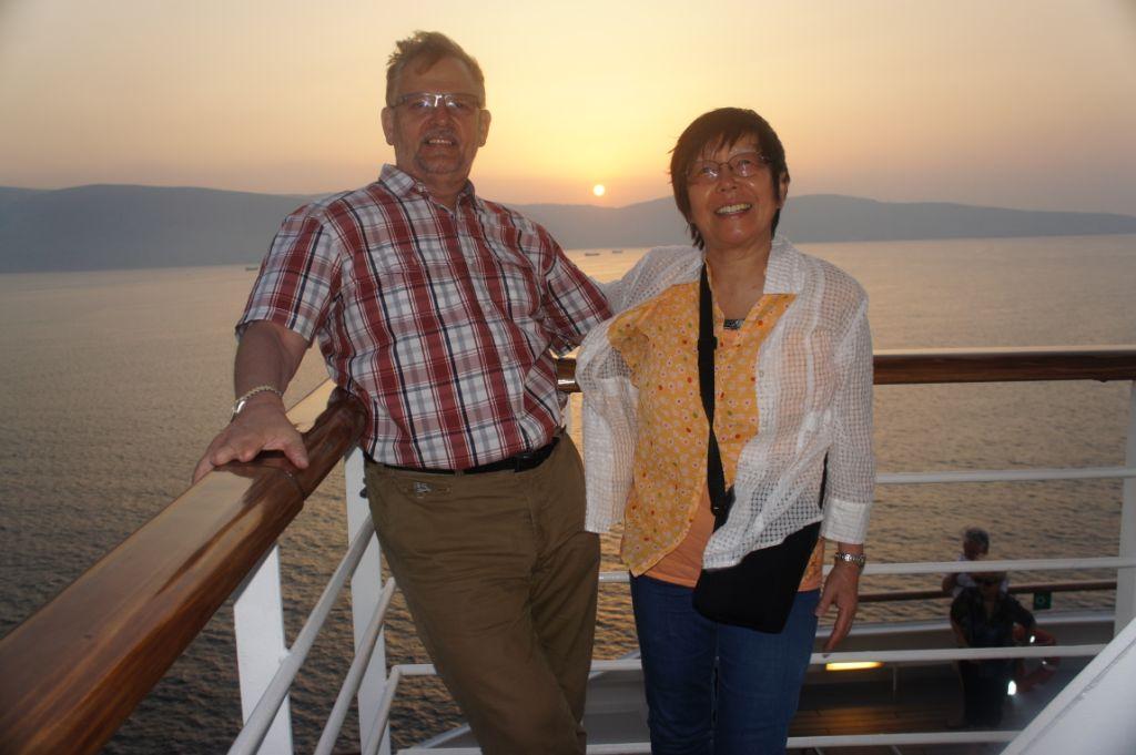 Auf hoher See - Sunset