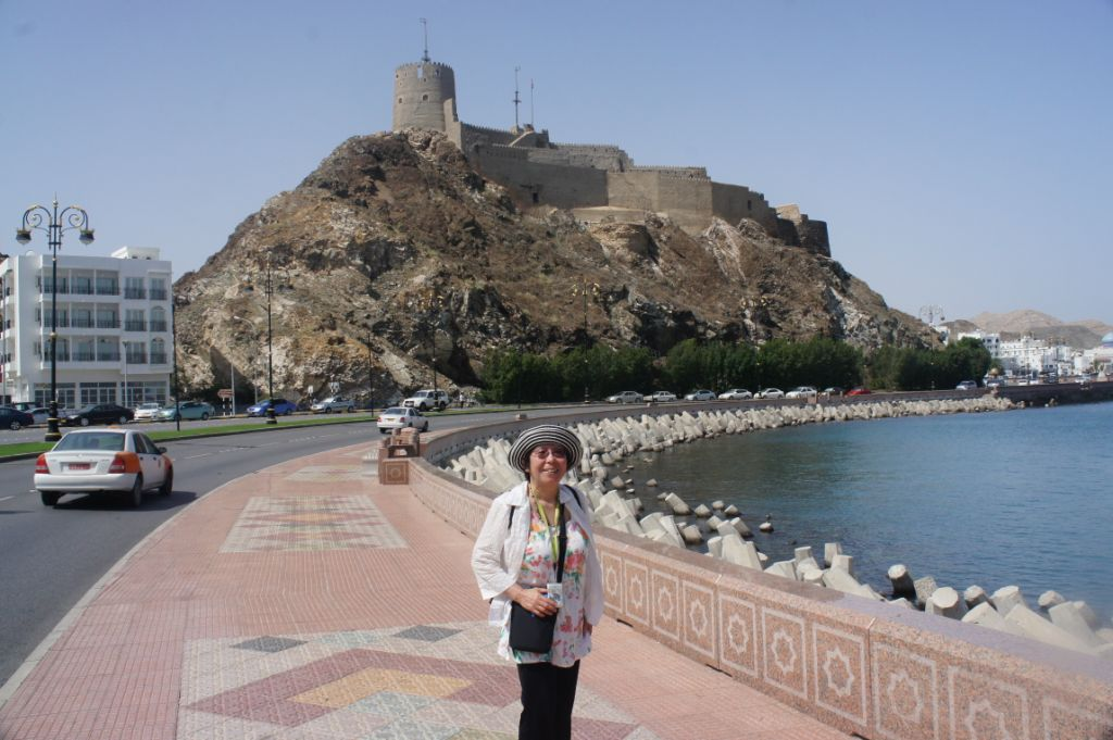 Muscat- Oman - endlose Strandpromenade