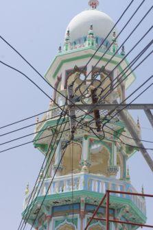 Fujairah, Minarett (Detail)
