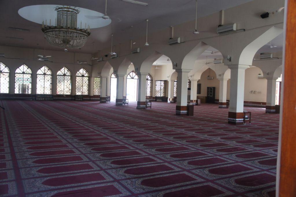 Salalah, Oman, Moschee, Inneres