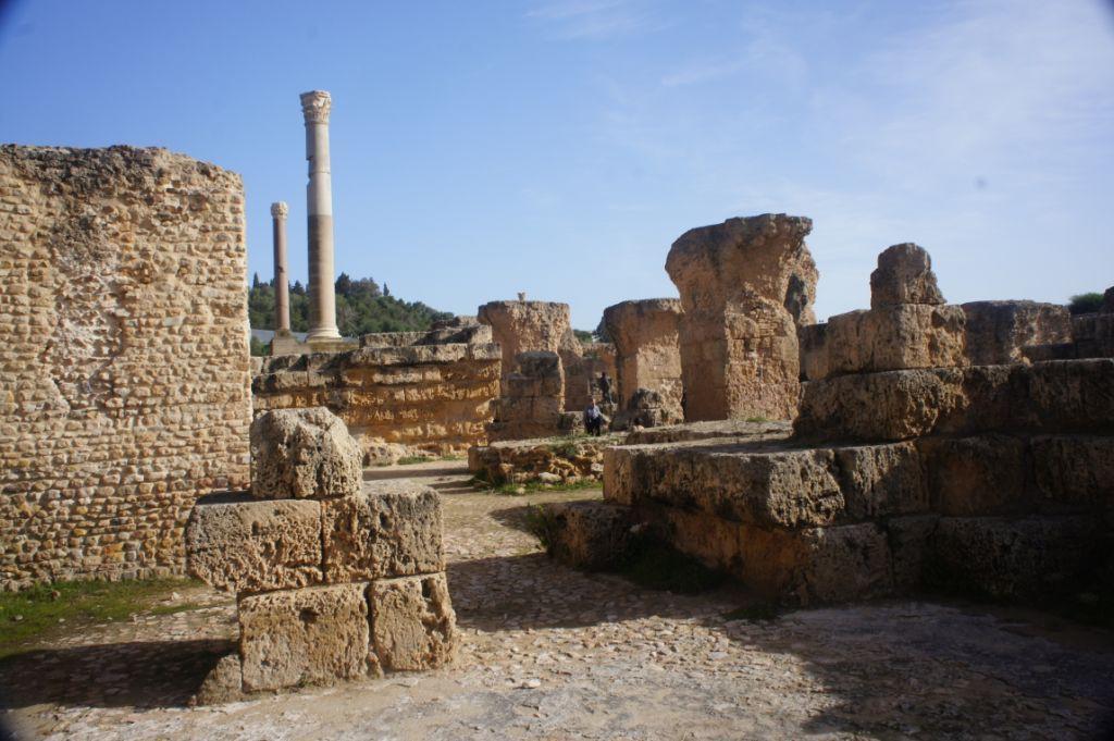 Ruinen von Karthago, Teilansicht