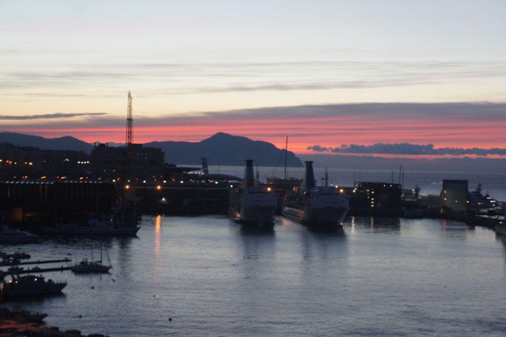 Genua, Morgenstimmung