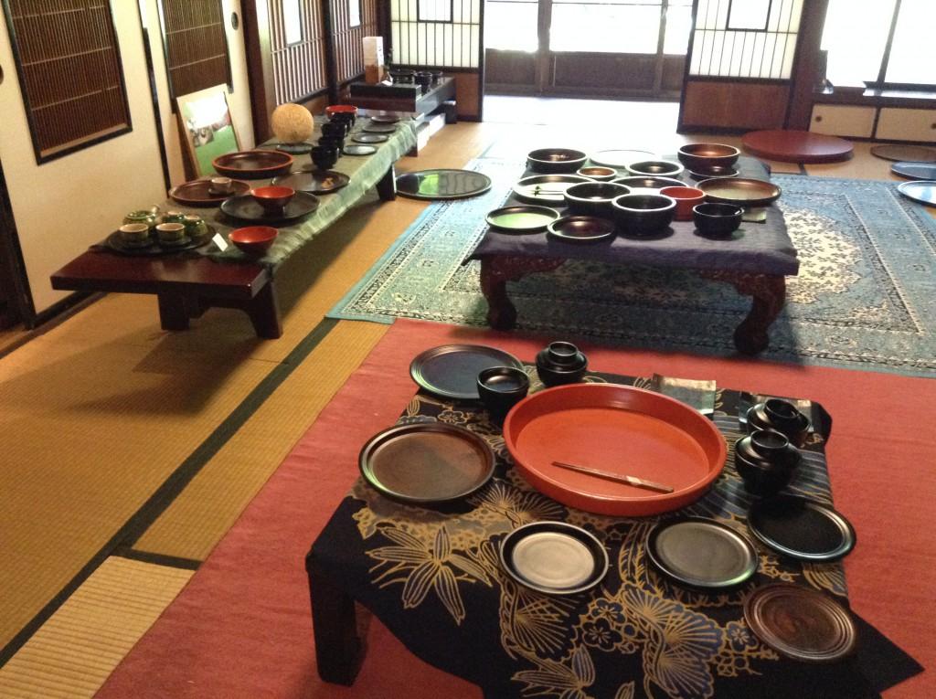 Lackwarengeschäft in Hirasawa