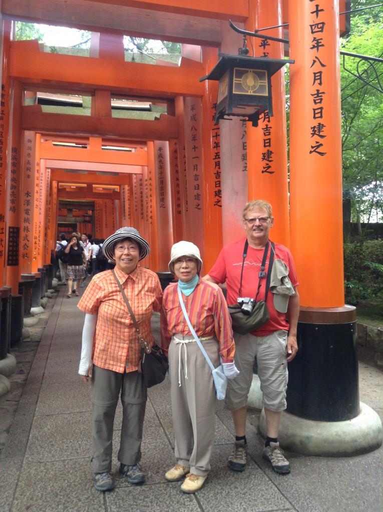 Kioto, Fushimi inari Schrein, #1 Attraktion der Ausländer