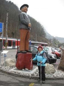 """Schacher Seppali"" Denkmal in Giswil"