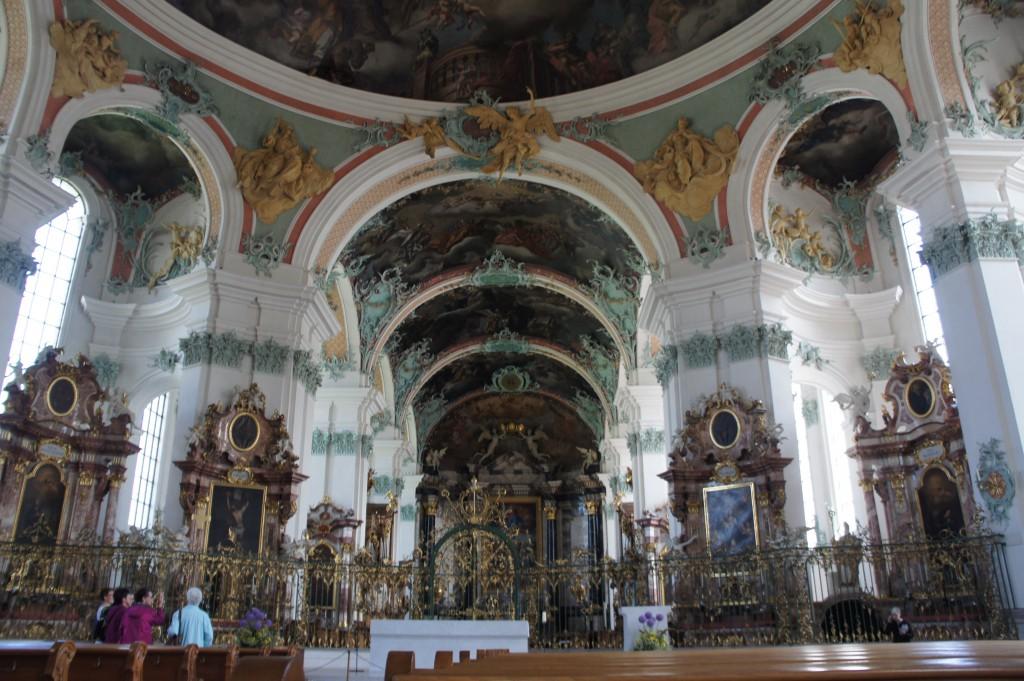 Stiftskirche St. Gallen, Inneres